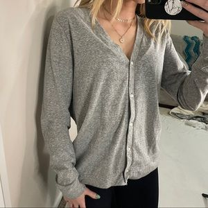 J Crew Mercantile Cotton Cardigan Sweater Button